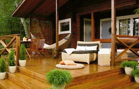 Терраса – завершенный вид дома и идеальное место для отдыха