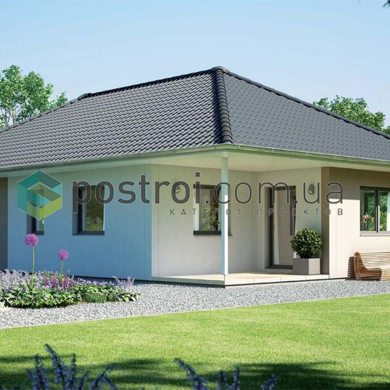 типовый проект одноэтажного дома